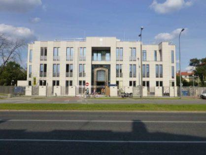 Ambasada Arabii Saudyjskiej w Warszawie.